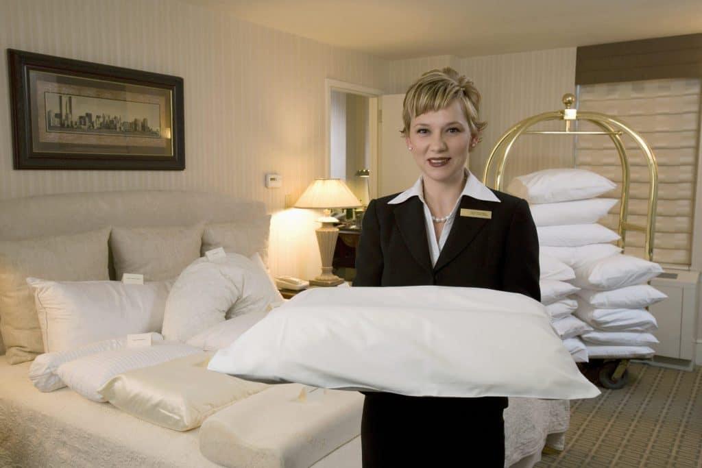 Anya Orlan dans un hôtel de New York