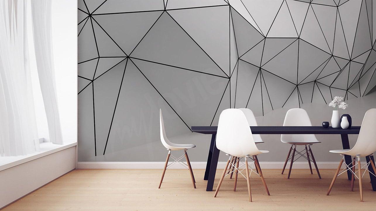 avec les papiers peints 3d d tes au revoir votre petite cuisine ma gazette. Black Bedroom Furniture Sets. Home Design Ideas