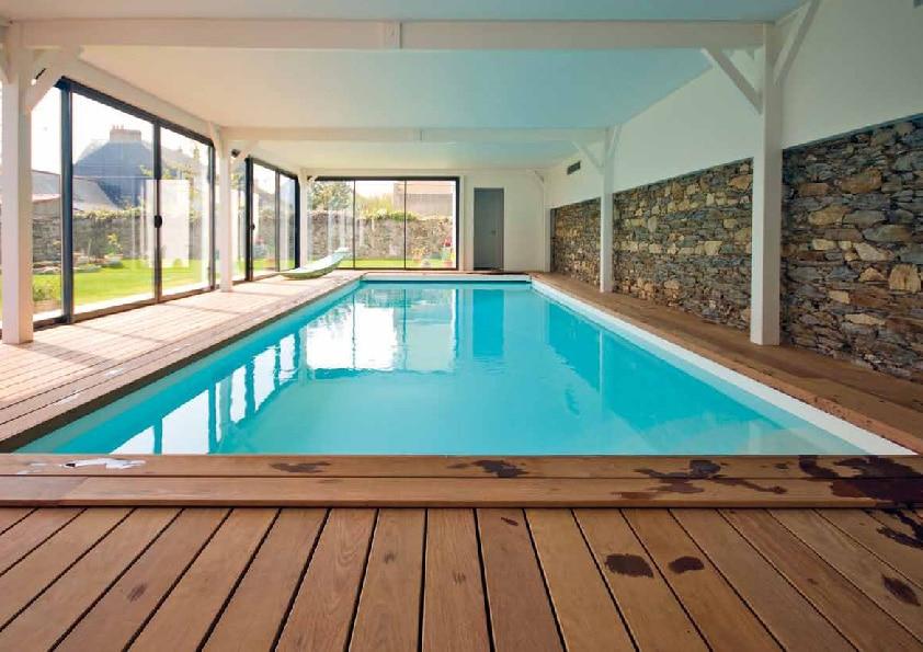 R aliser son r ve une maison avec piscine int rieure for Meilleur chauffe piscine