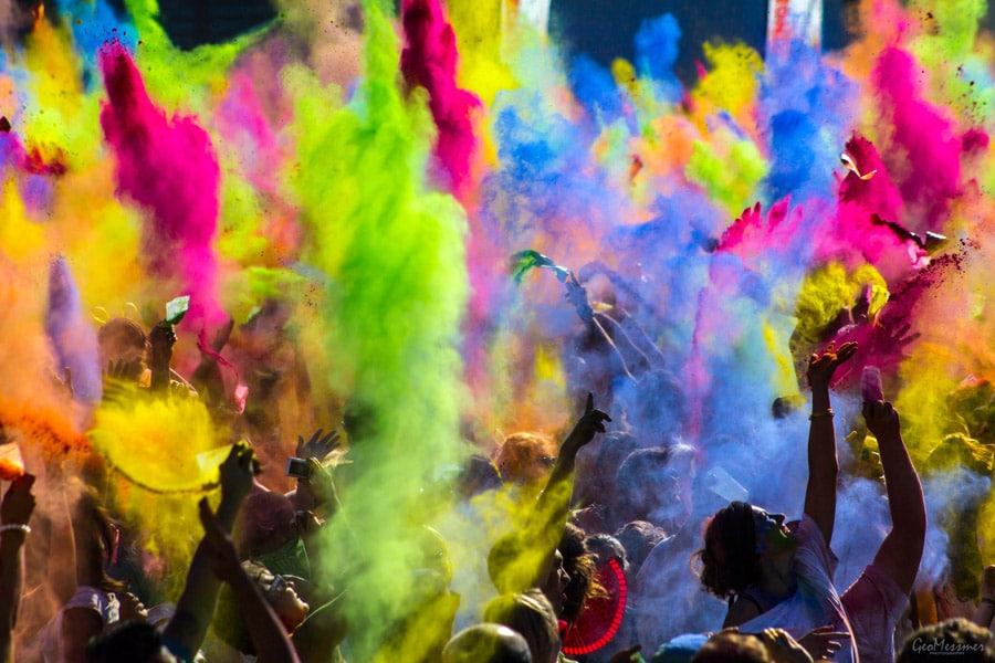 Holi, le festival des couleurs