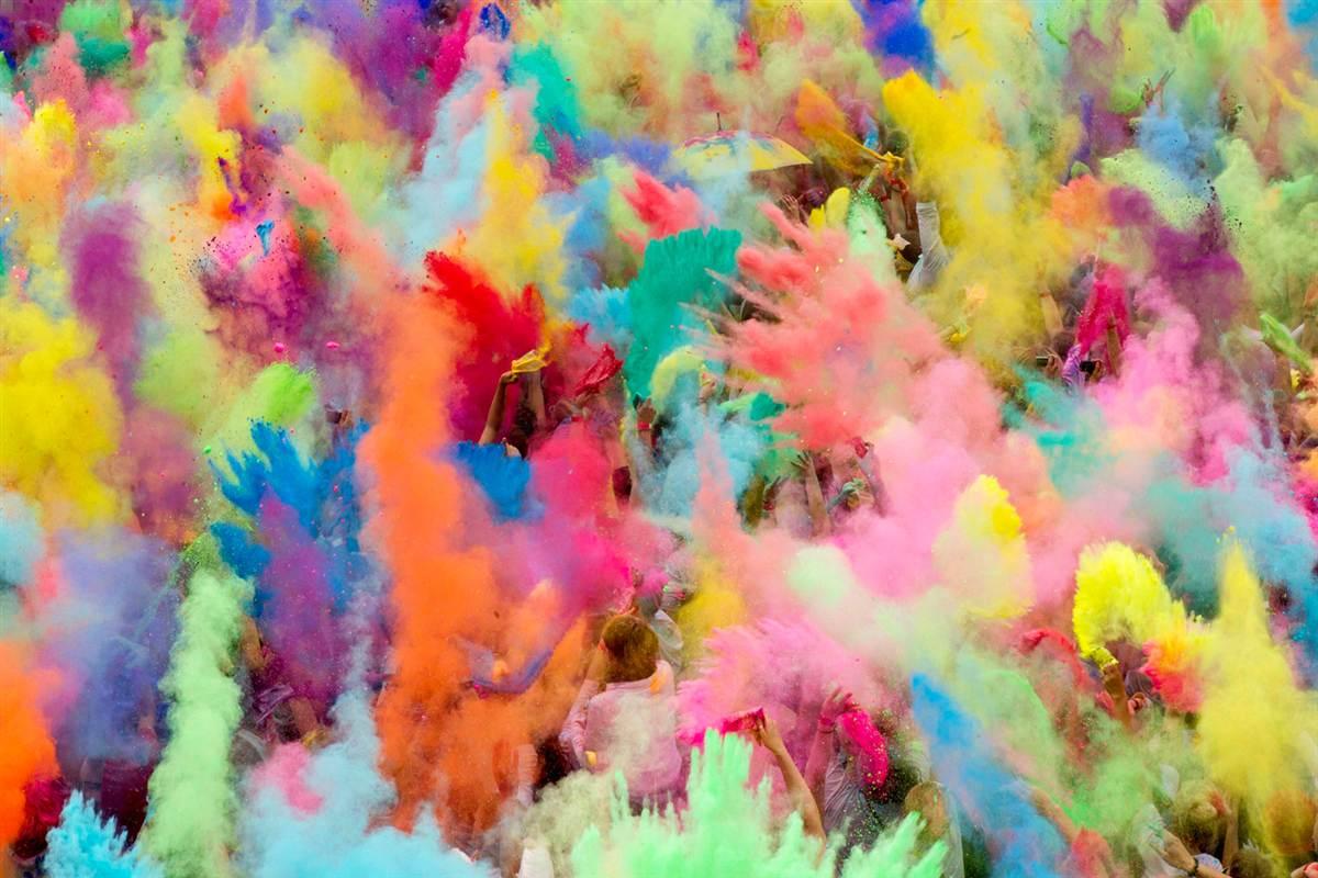 la fête des couleurs