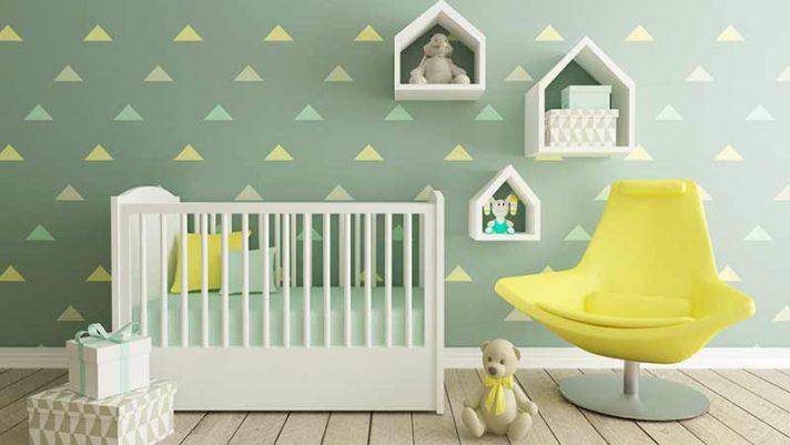 conseils pour am nager une petite chambre de b b. Black Bedroom Furniture Sets. Home Design Ideas
