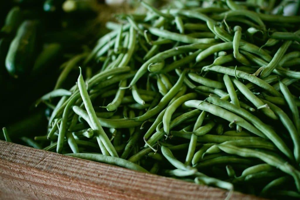 Des haricots verts