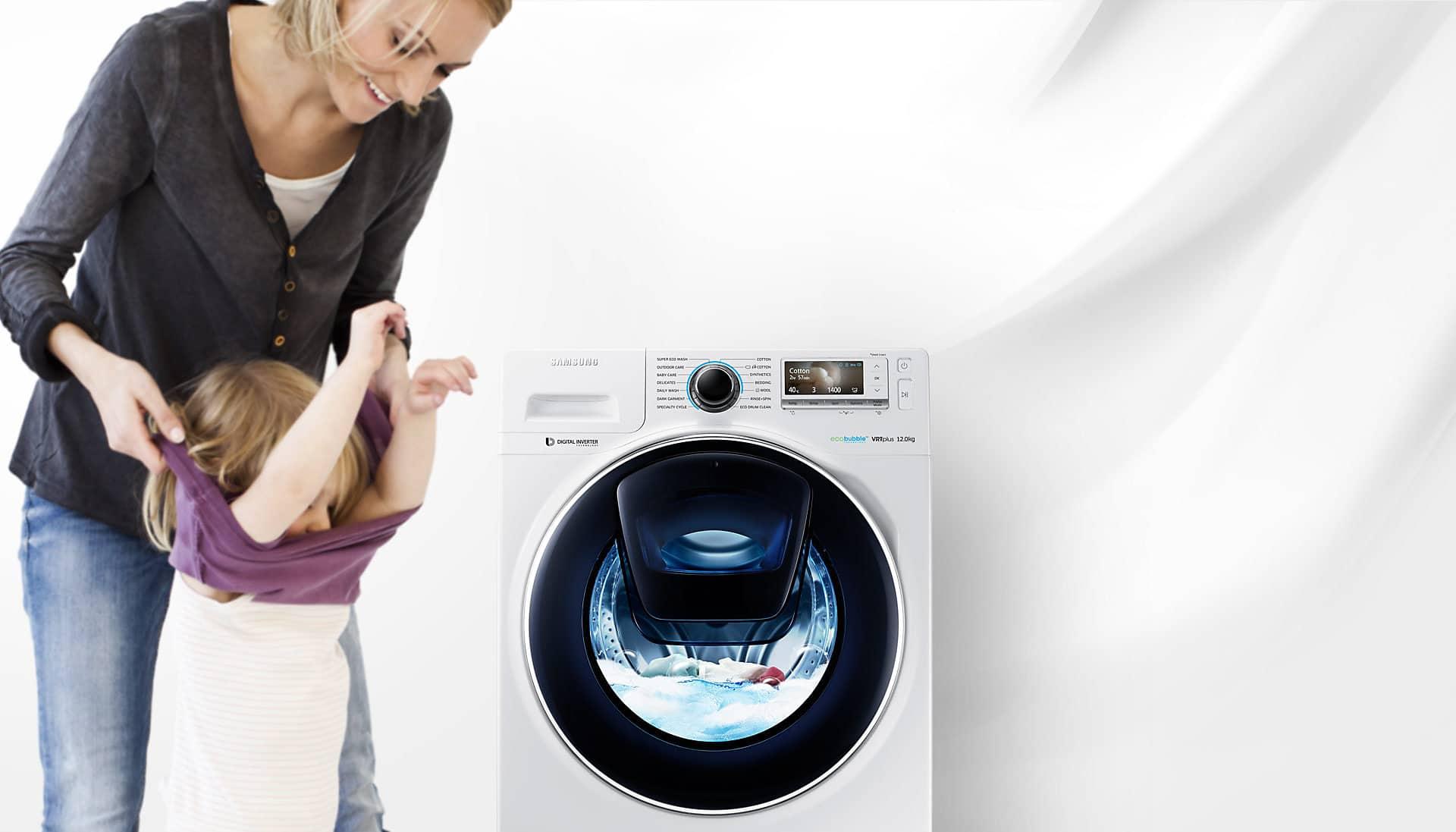 machine à laver samsung