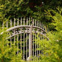 portail en fer forgé pour une maison